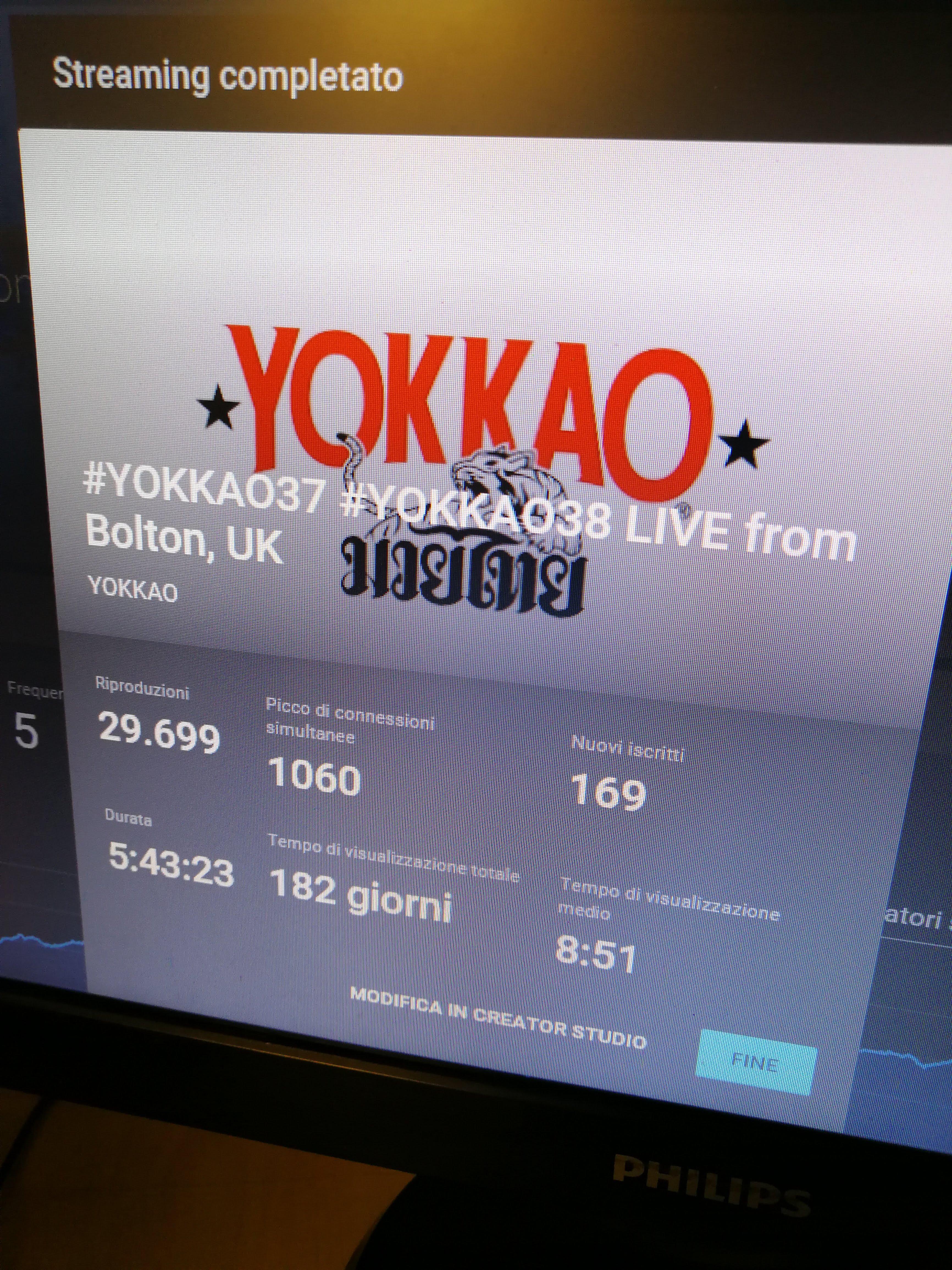 Yokkao - Streaming Statistics