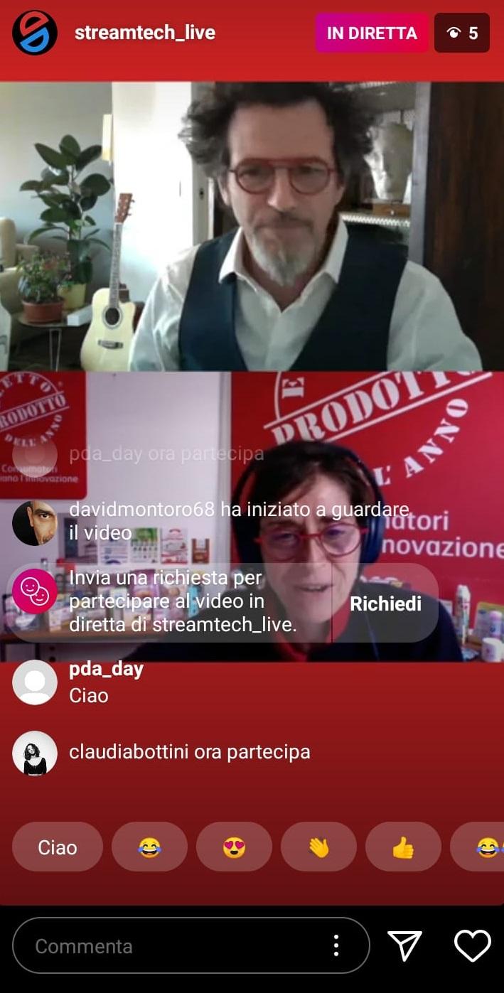 Prodotto dell'anno - Live Instagram
