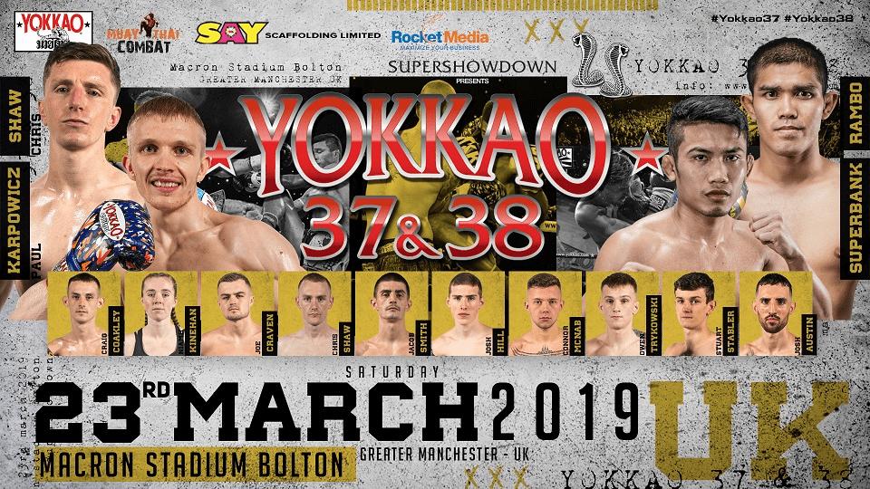 Streamtech Yokkao 23 marzo