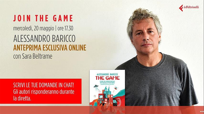 Alessandro Baricco Live Streamtech