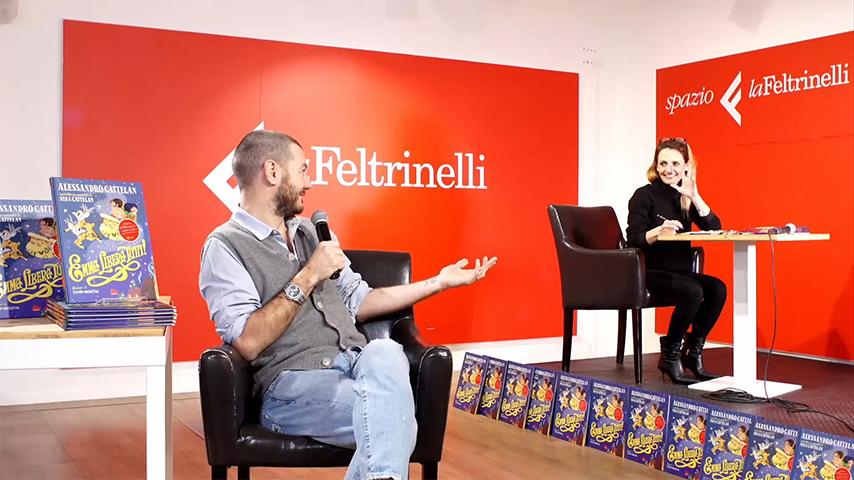 Alessandro Cattelan - LaFeltrinelli - Streamtech