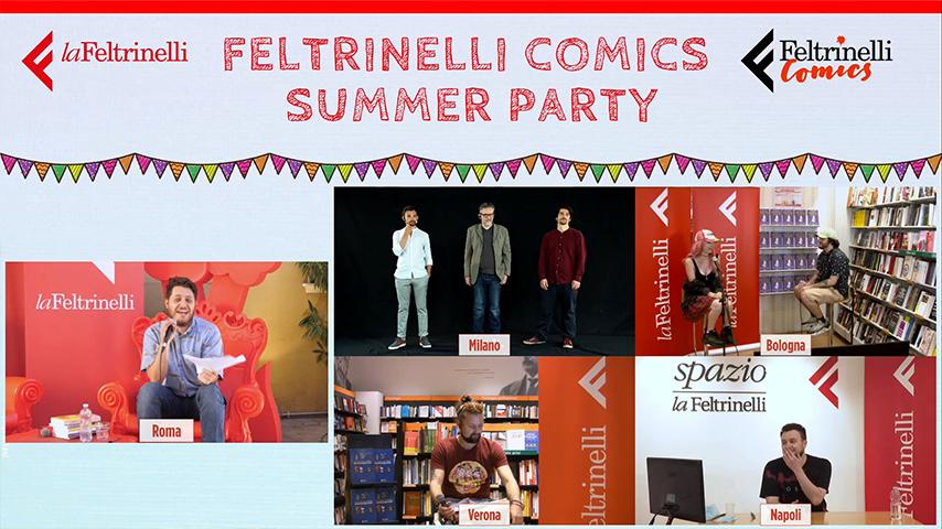 Feltrinelli Comics summer party - Streamtech