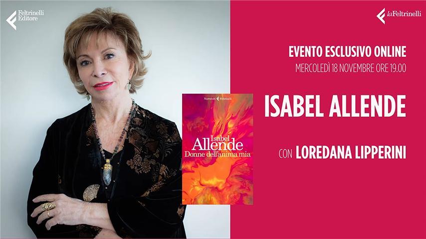 Isabel Allende Live Streamtech