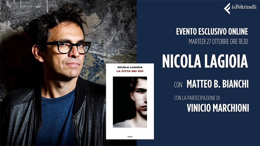 Nicola Lagioia live Streamtech