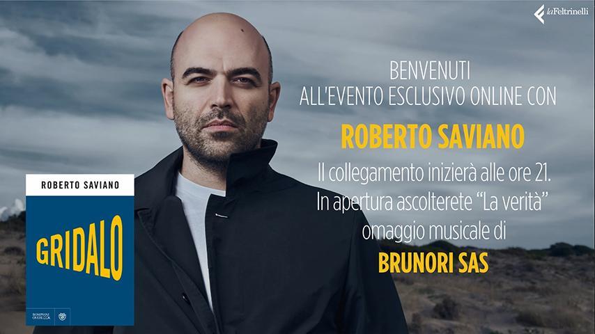 Roberto Saviano Live Streamtech