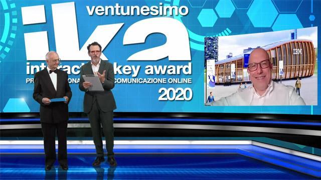 21° Interactive key award