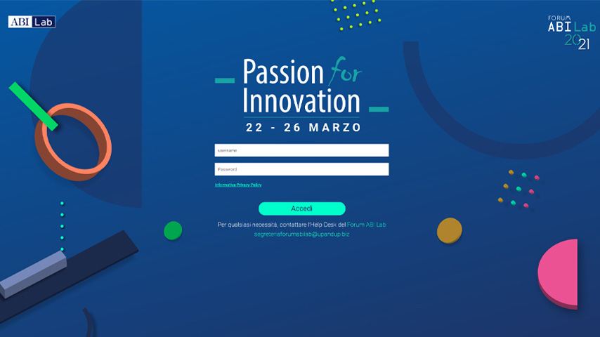 Abi Lab Log-in Personalizzato